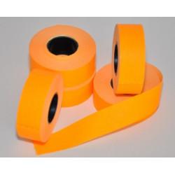 Etikety Contact 26x12 oranžové
