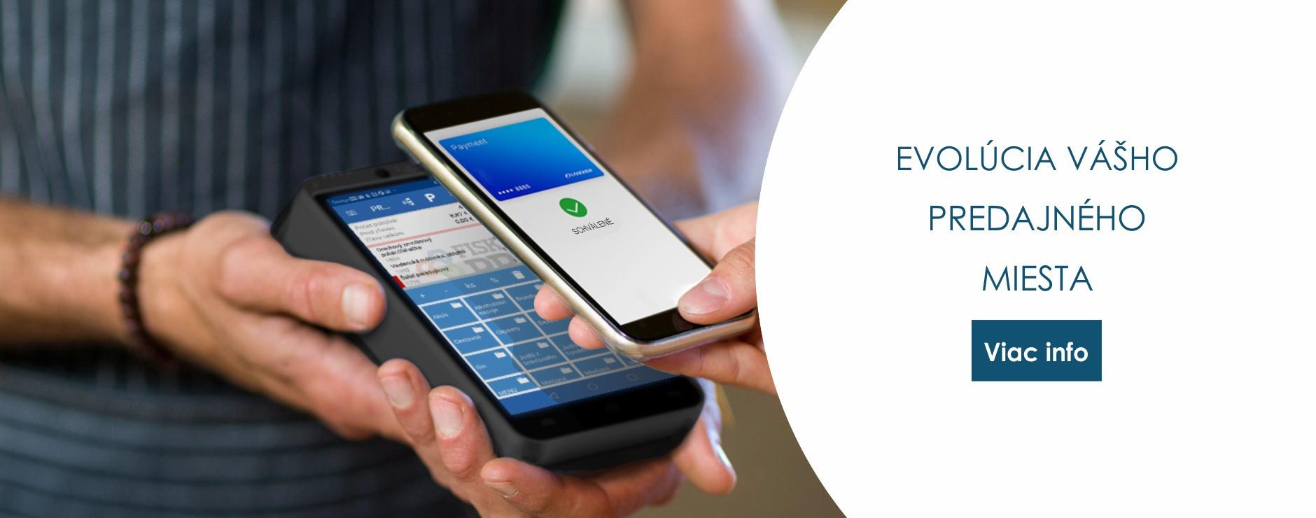 Úspešná séria registračných pokladní s platobným terminálom FiskalPro